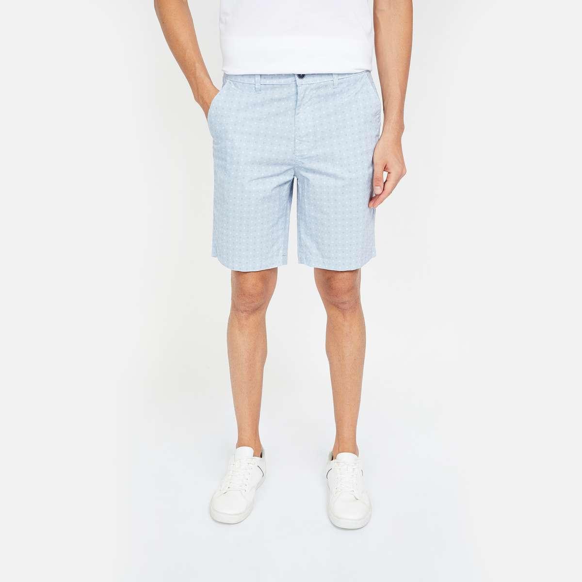 CODE Printed Regular Fit Shorts