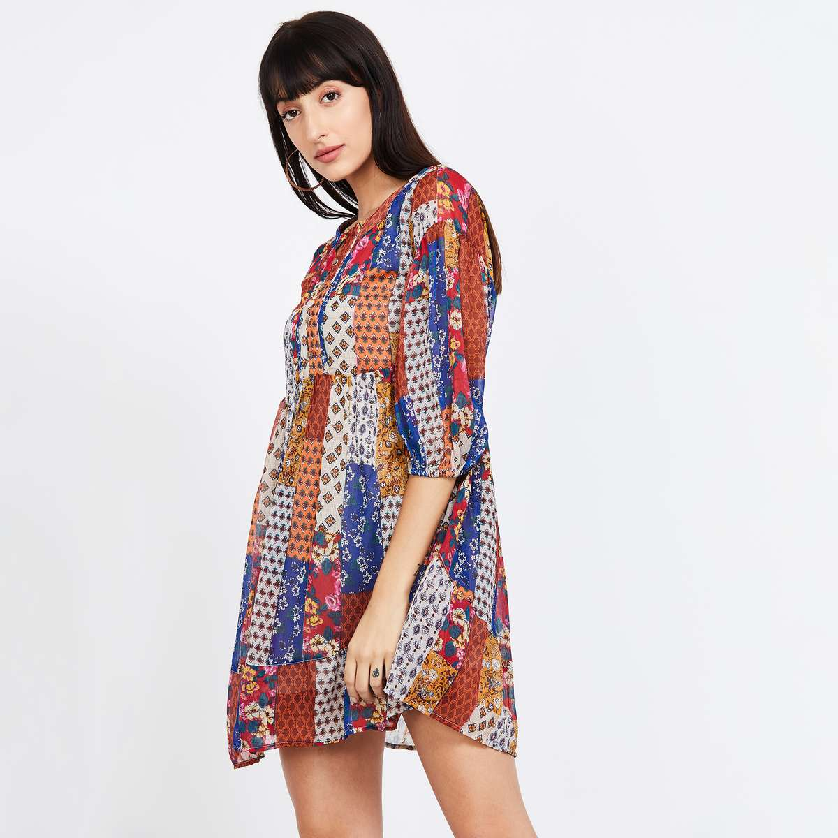 ONLY Printed Mini Dress