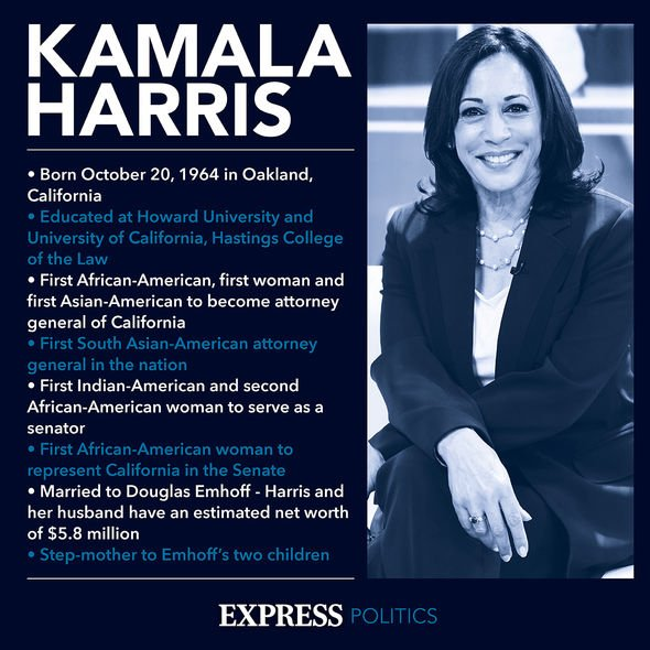 Kamala Harris: She will be the US' first woman, and first black and Asian American to hold the post