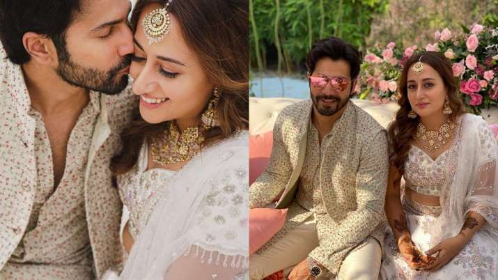 Varun Dhawan leaves fans drooling over photos from his Mehendi function with Natasha Dalal