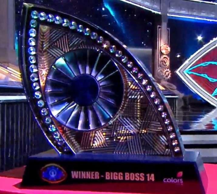 India Tv - Bigg Boss 14 trophy
