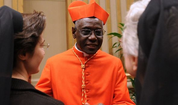 Cardinal Robert Sarah's resignation was accepted by Pope Francis