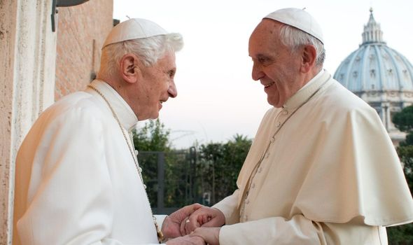 Pope Benedict and Pope Francis' ideals for the church are different
