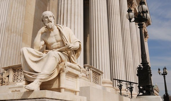 An account from Herodotus was used as evidence