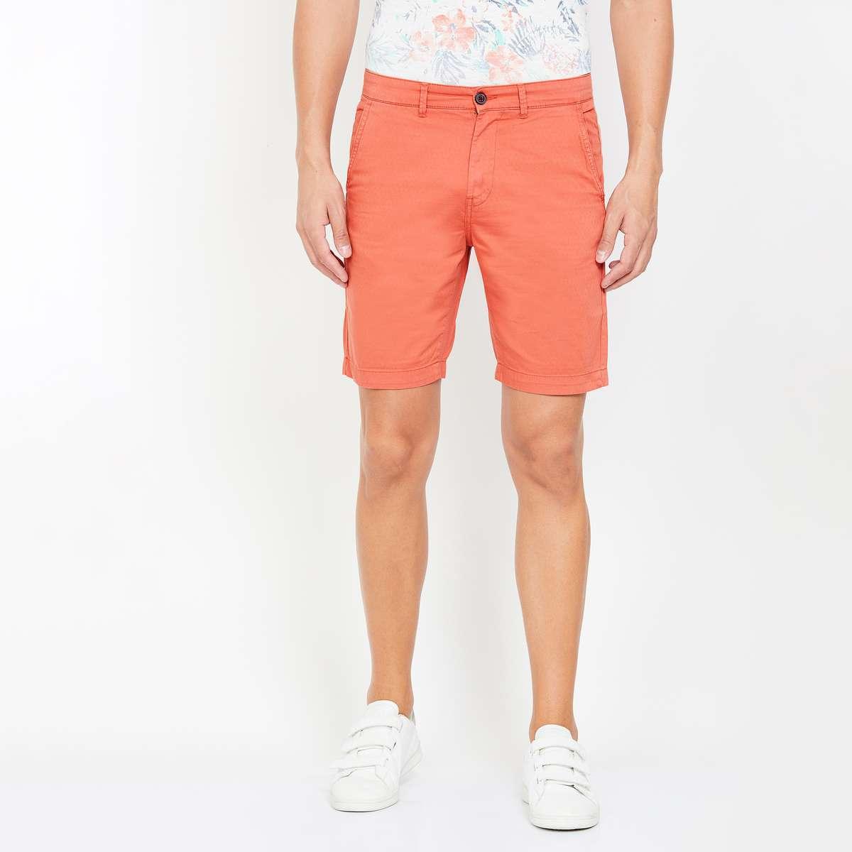 FAME FOREVER Men Solid Regular Fit City Shorts