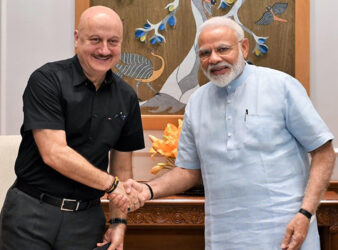 Anupam Kher meets PM Narendra Modi, calls it 'an honour and a privilege'   Hindi Movie News - Bollywood - Times of India