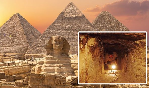 A chamber was theorised to be hiding beneath the Great Pyramid