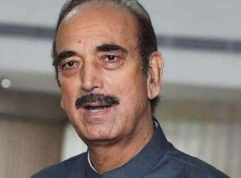 Congress leader Ghulam Nabi Azad