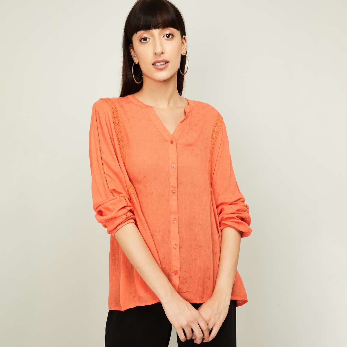 LEE COOPER Women Textured Shirt
