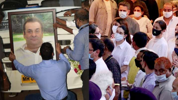 Rajiv Kapoor cremated in presence of family and friends