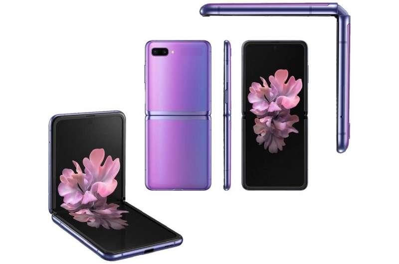 Samsung unveils Galaxy Z Flip folding smartphone
