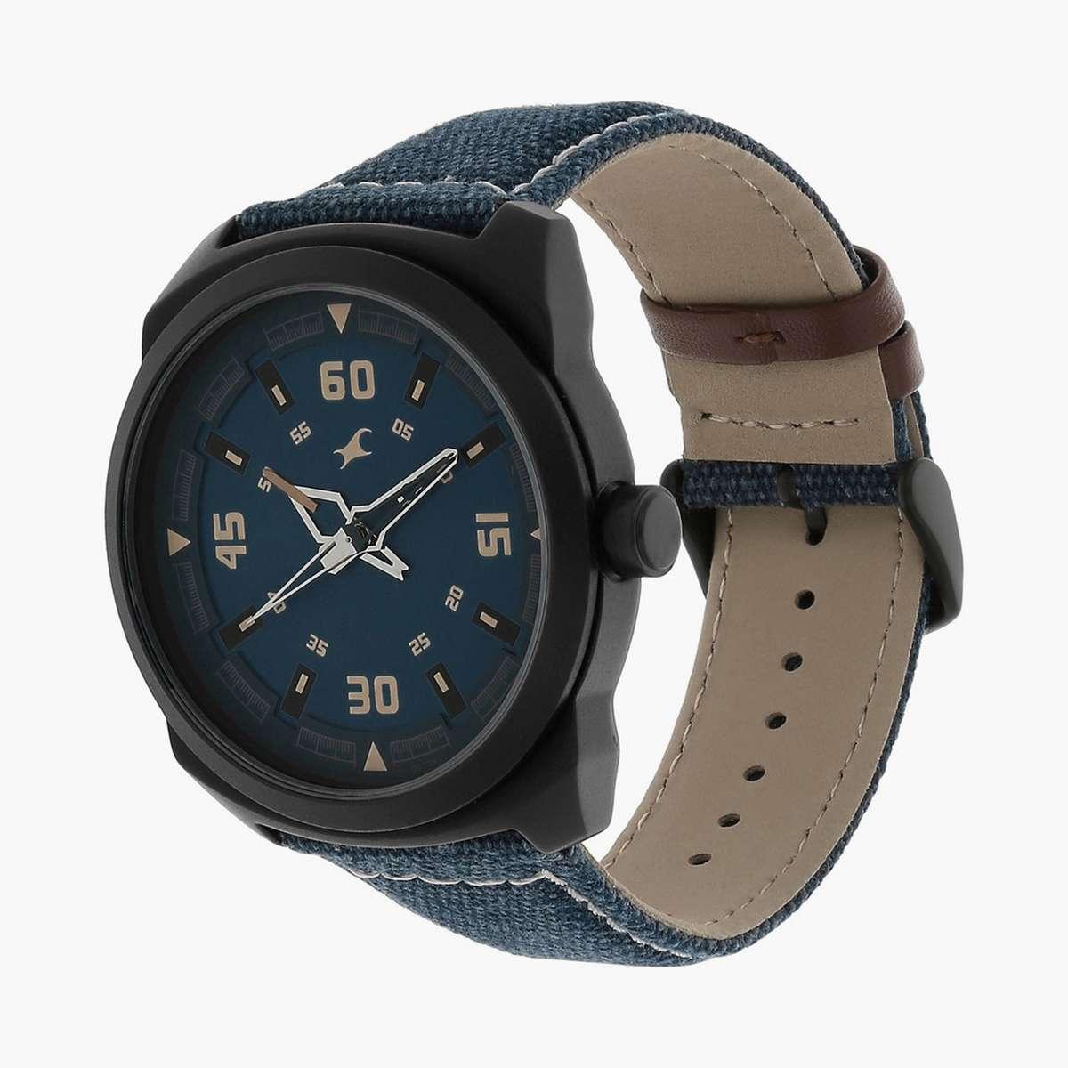 FASTRACK Round Dial Analog Men's Wristwatch - NM9463AL07