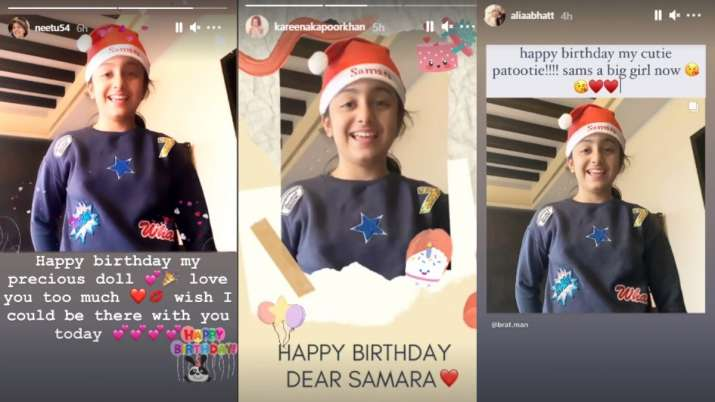 India Tv - Alia Bhatt, Kareena Kapoor Khan's cute birthday wishes for Samara