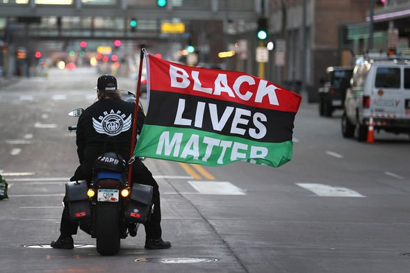 Derek Chauvin trial: BLM protesters