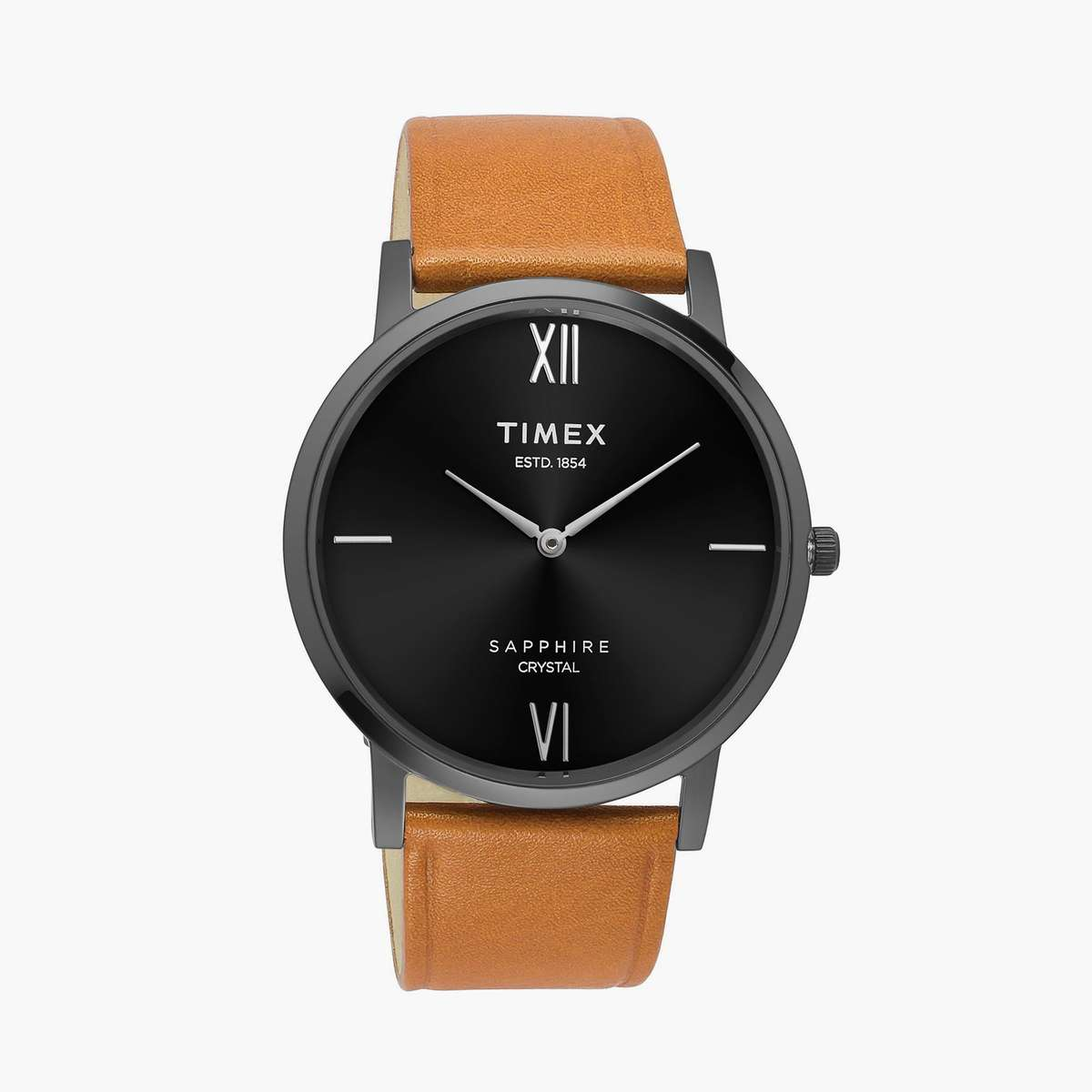 TIMEX Men Analog Watch with Leather Strap- TWEG17408