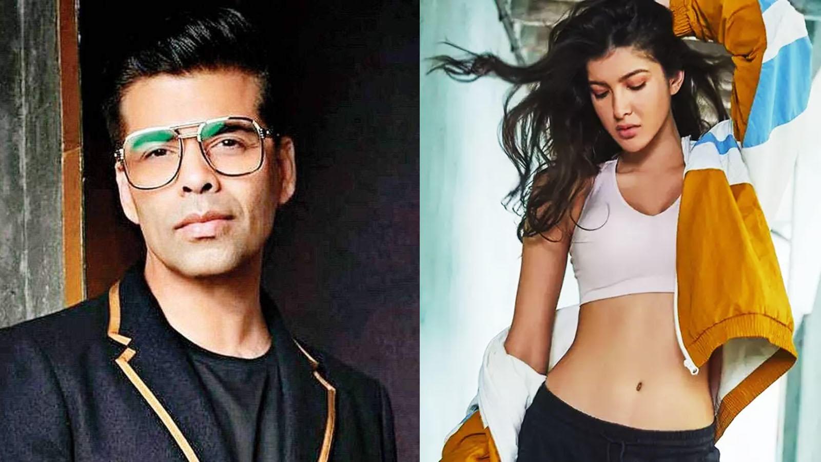 Karan Johar trolled for announcing Sanjay Kapoor's daughter Shanaya  Kapoor's debut, netizens write 'nepotism at its finest' | Hindi Movie News  - Bollywood - Times of India