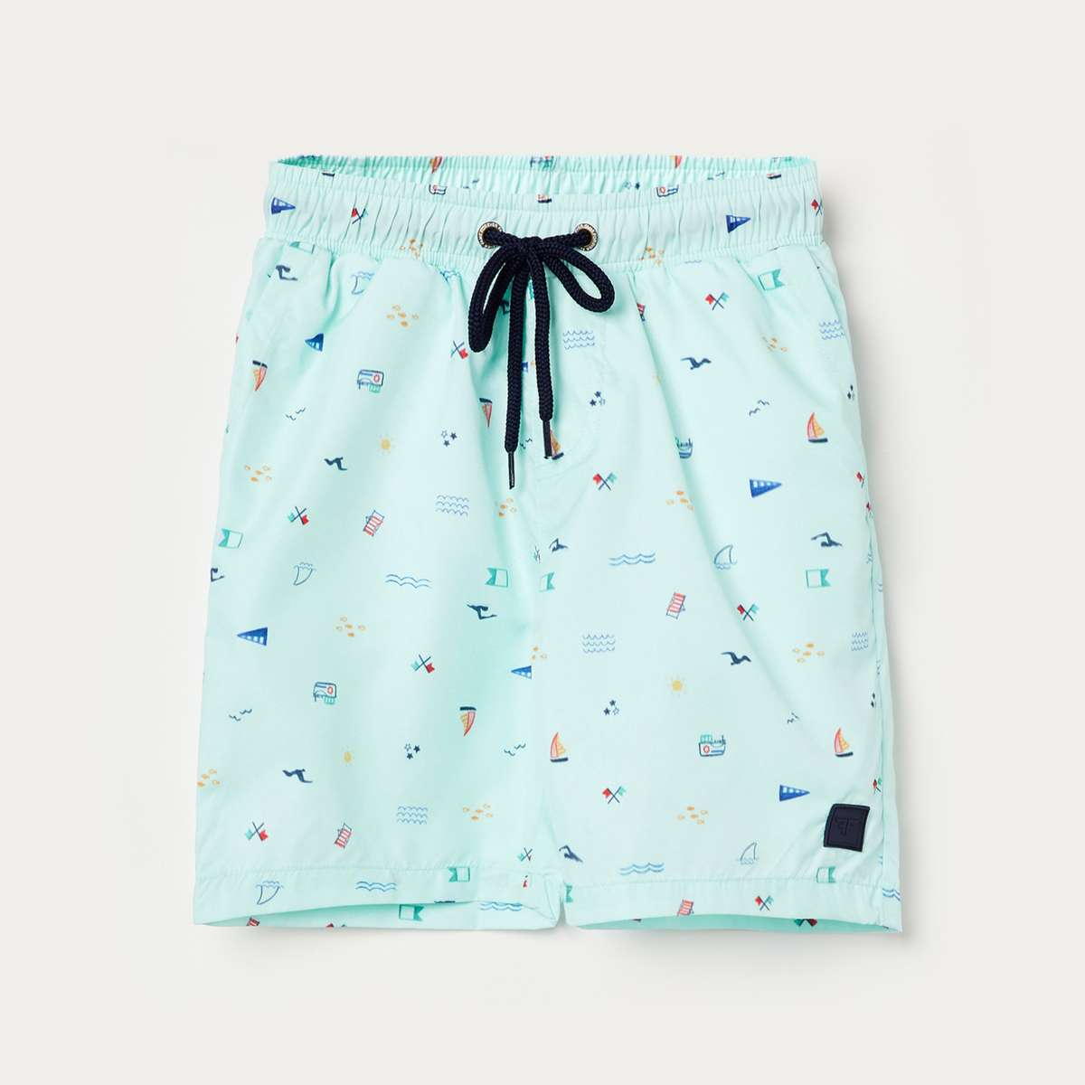 FAME FOREVER KIDS Boys Printed Elasticated Shorts