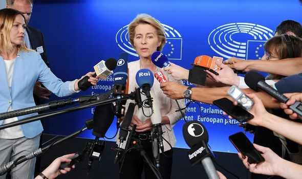 Ursula von der Leyen has been under pressure