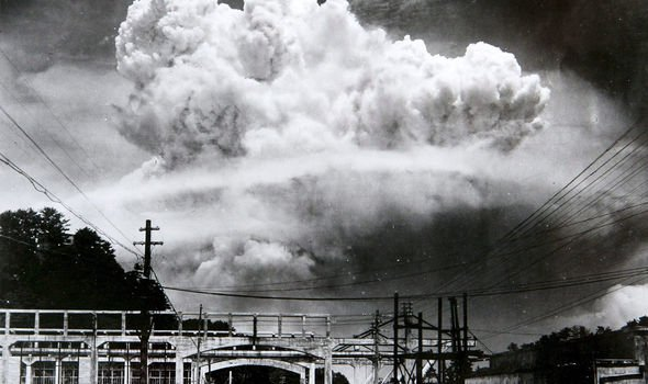 The atomic bomb was dropped on Nagasaki and Hiroshima