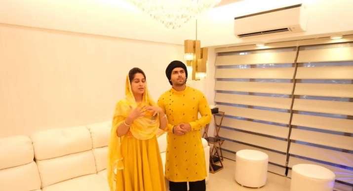 India Tv - Dipika Kakar and Shoaib Ibrahim's Mumbai home