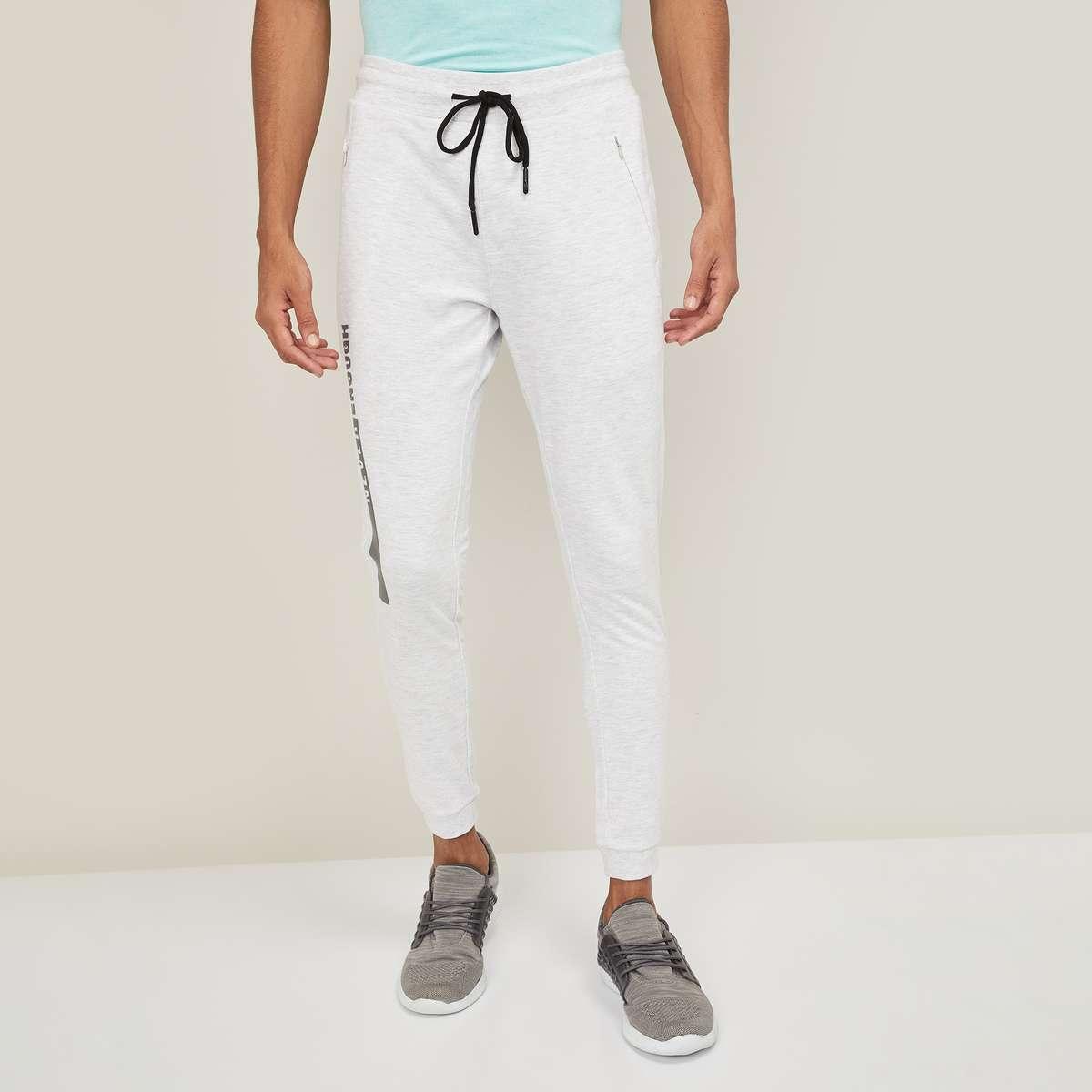 4.KAPPA Men Printed Elasticated Track Pants