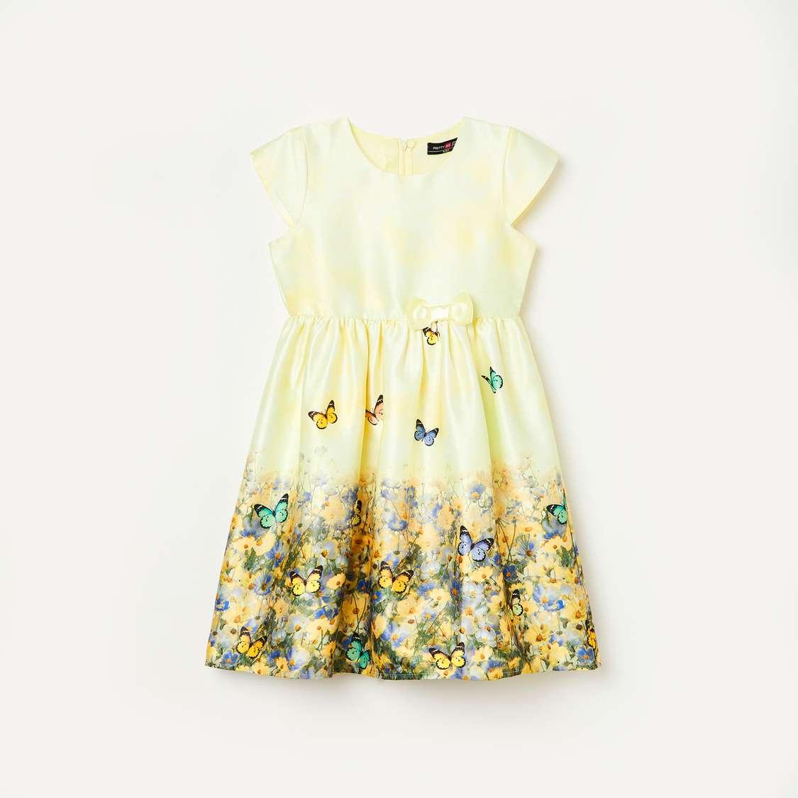 5.PRETTY ME Girls Printed Dress