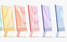 Apple M1 iMac colors (2021)