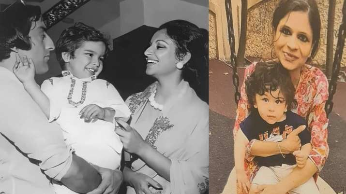 Childhood pics of Saif Ali Khan, Taimur Ali Khan