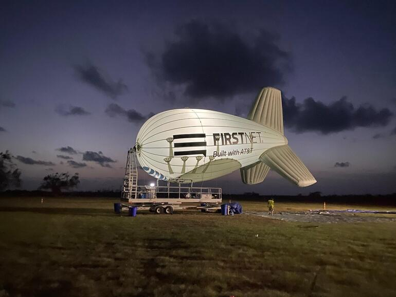AT&T FirstNet One Blimp