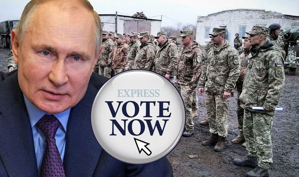 Should UK intervene as Putin sends 100,000 troops to European border?