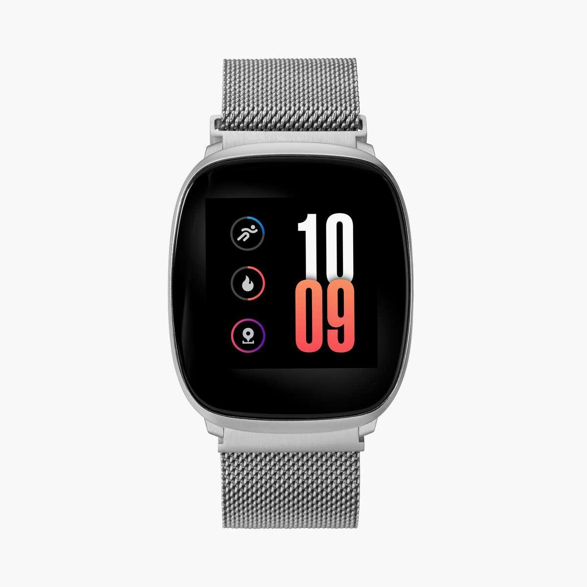 4.TIMEX iConnect Unisex Premium Active Mesh Bracelet Smartwatch - TW5M38