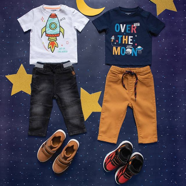 playful t-shirts from Juniors by Lifestyle.