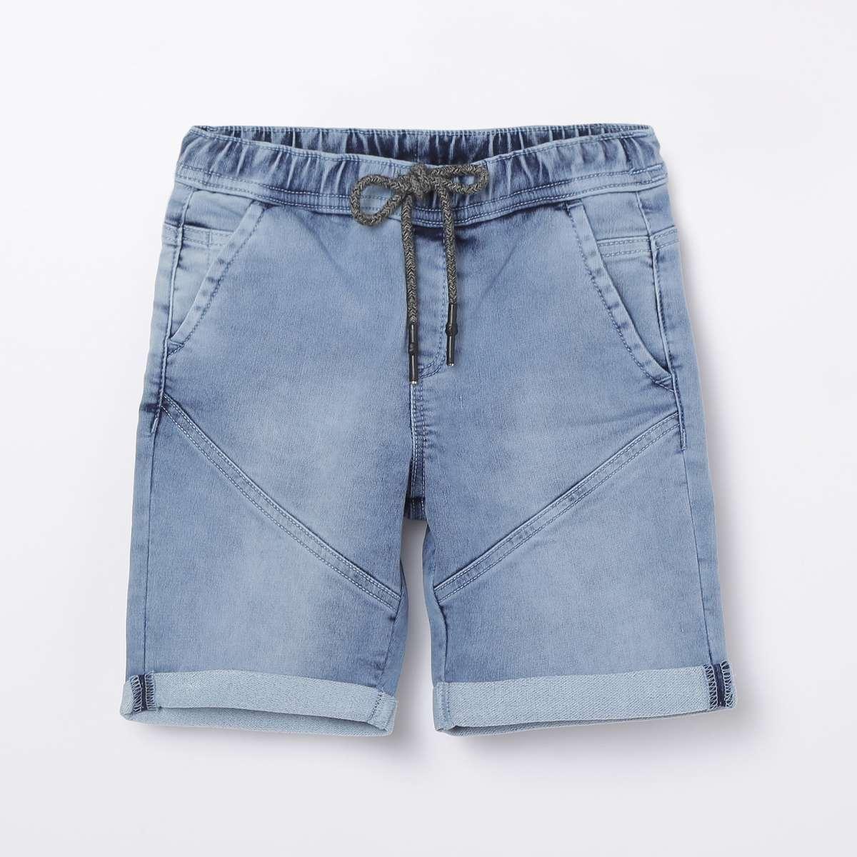 DENIMIZE Boys Washed Denim Shorts