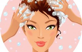 1.Wash your hair regularly