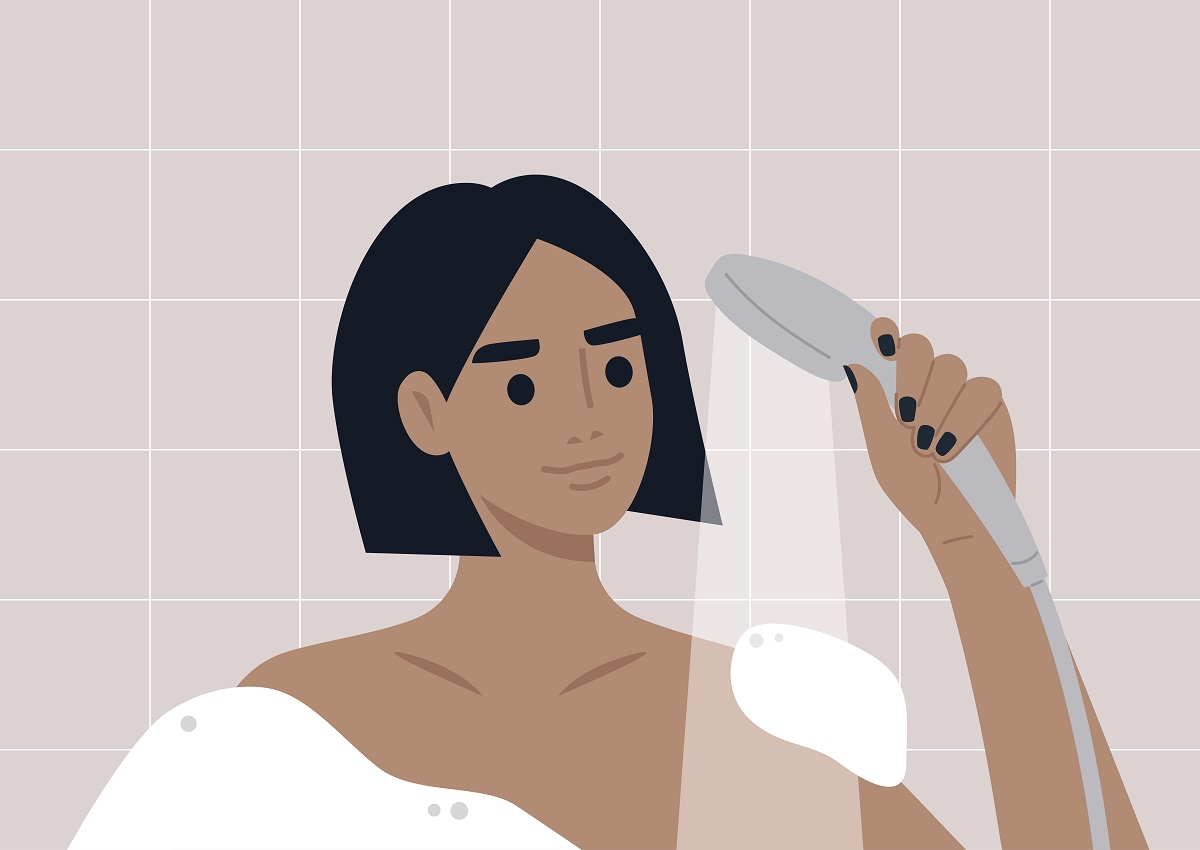 3. Rinse your hair thoroughly