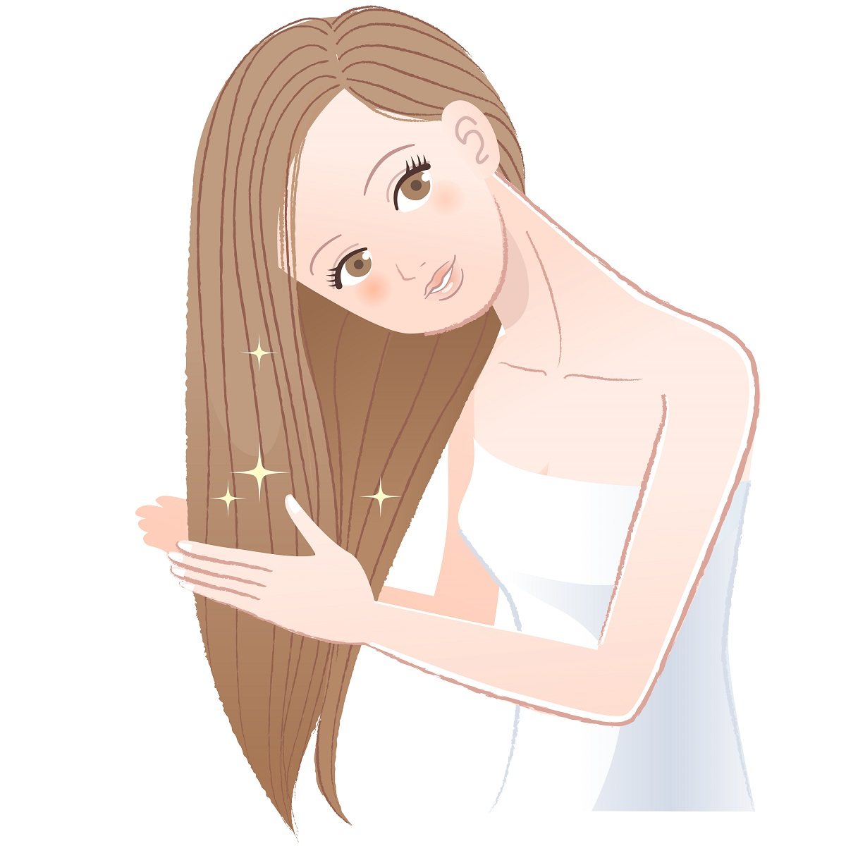 5. Oil your hair when needed