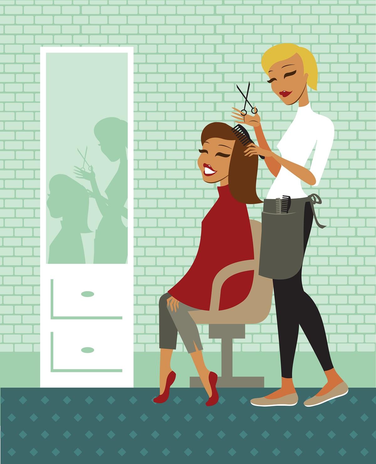 8. Trim your hair