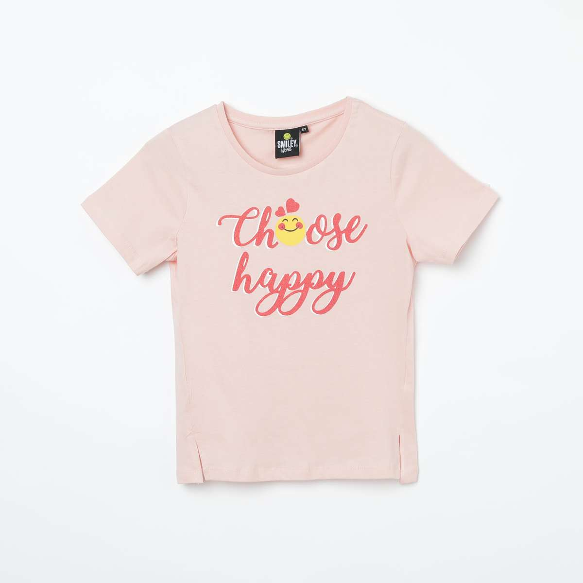 3g. SMILEYWORLD Printed Cap Sleeves T-shirt