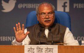 'Don't mislead farmers': Tomar's warning to Rahul
