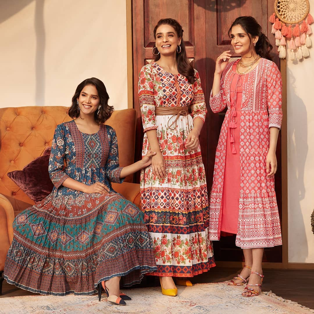 1.elegant ethnic patterned pieces from BIBA