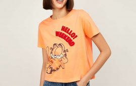1.GINGER Women Printed Round Neck T-shirt