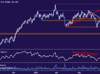 New Zealand Dollar vs US Dollar price chart - daily
