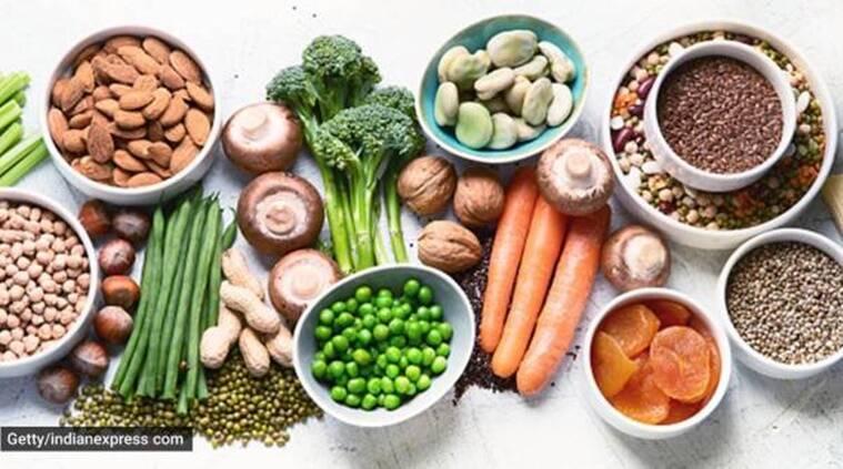 healthy food, nutrients, vegetables