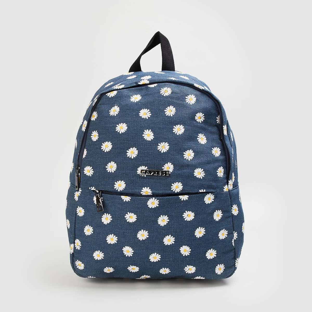 2.CAPRESE Women Printed Backpack