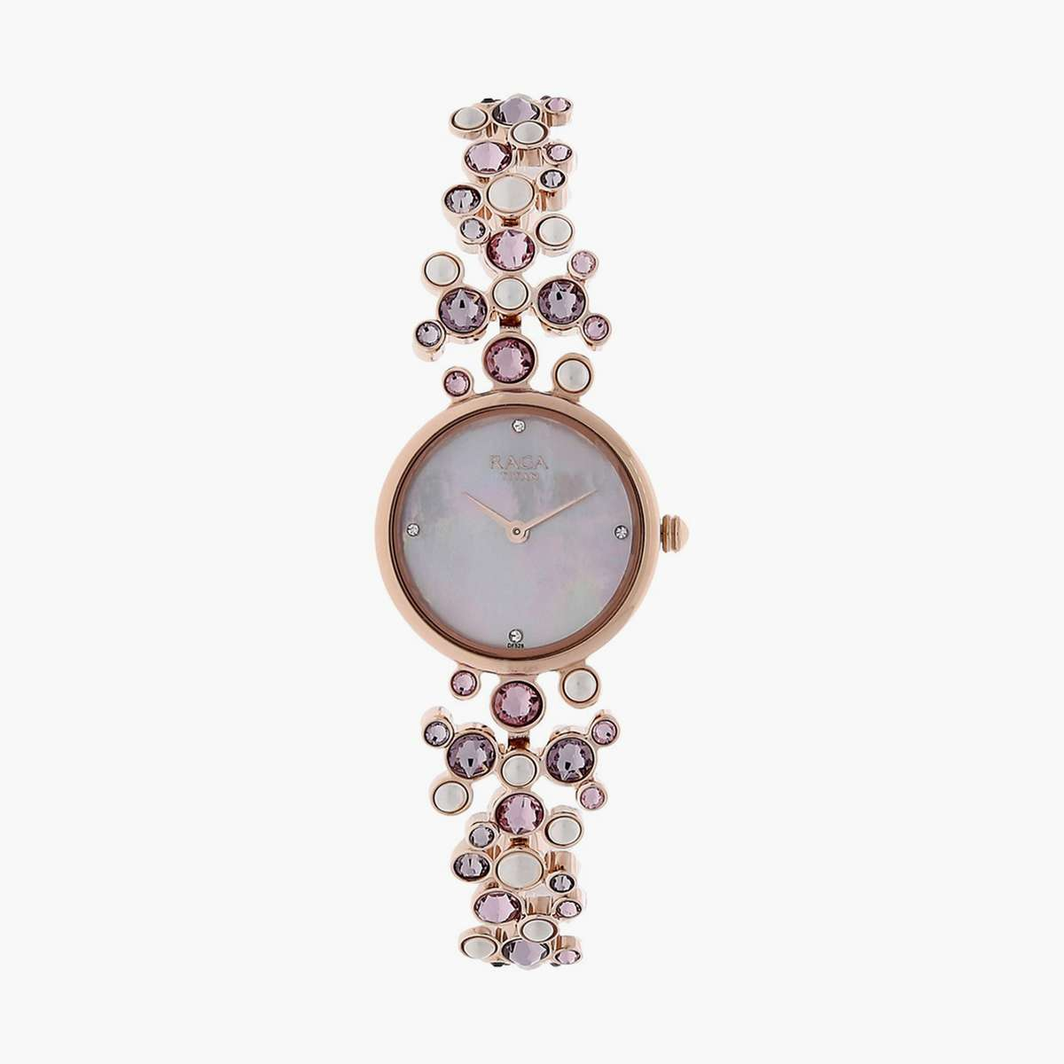 1.TITAN Women Embellished Analog Watch- NM95032WM02
