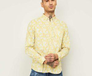 1.FLYING MACHINE Men Printed Slim Fit Casual Shirt