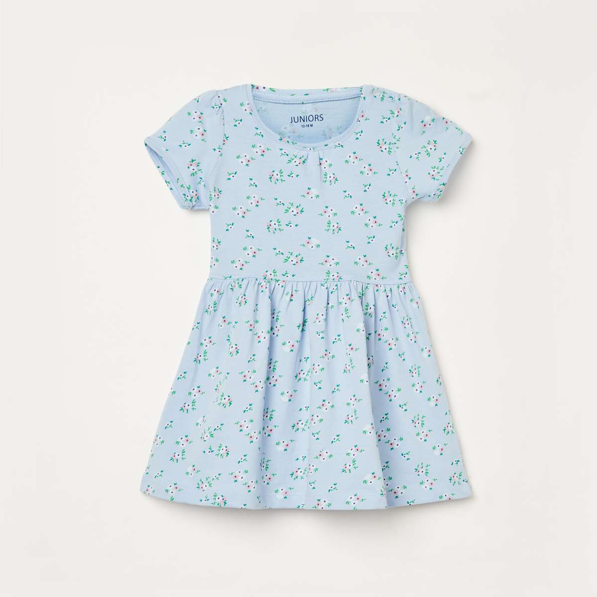 3.JUNIORS Girls Printed A-line Dress