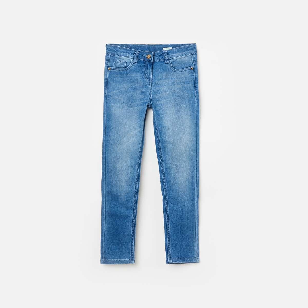 2.BOSSINI Girls Stonewashed Regular Fit Jeans