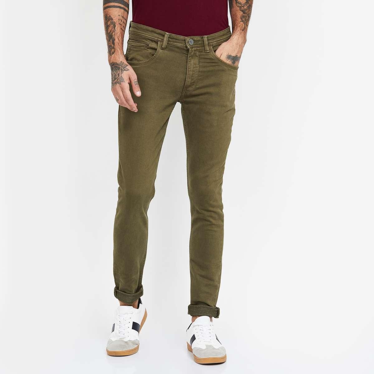 6.V DOT Solid Slim Fit Jeans