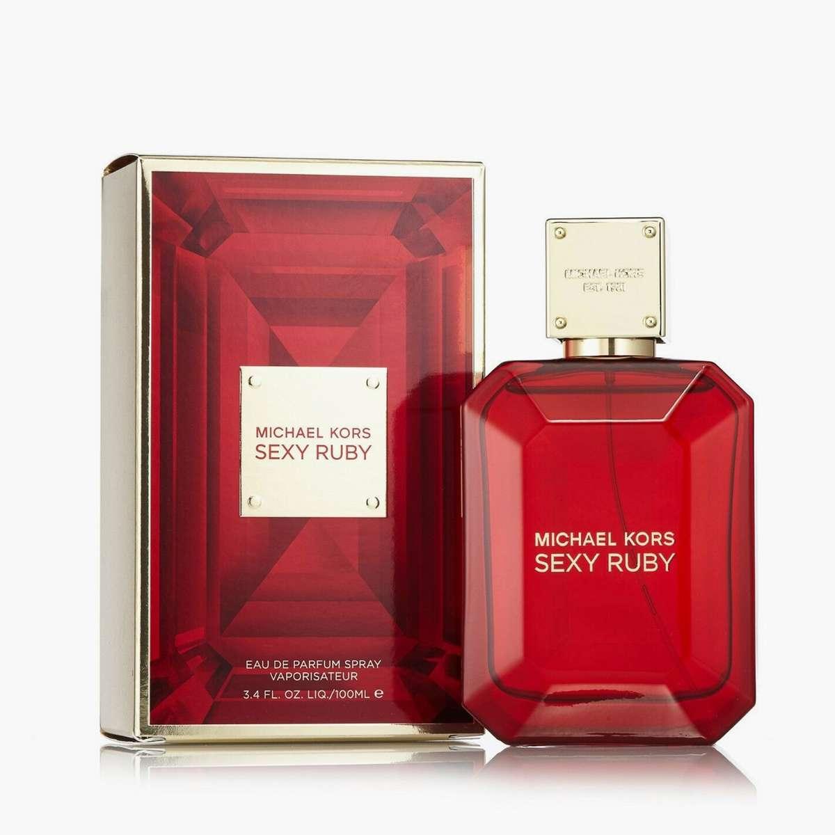 3.MICHAEL KORS Women Sexy Ruby Eau de Parfum-100ml